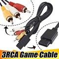 Großhandel 1,8 m 6FT AV TV RCA Video Kabel Kabel für SNES GameCube für Nintendo N64 64 Spiel Kabel 100 pcs/lot