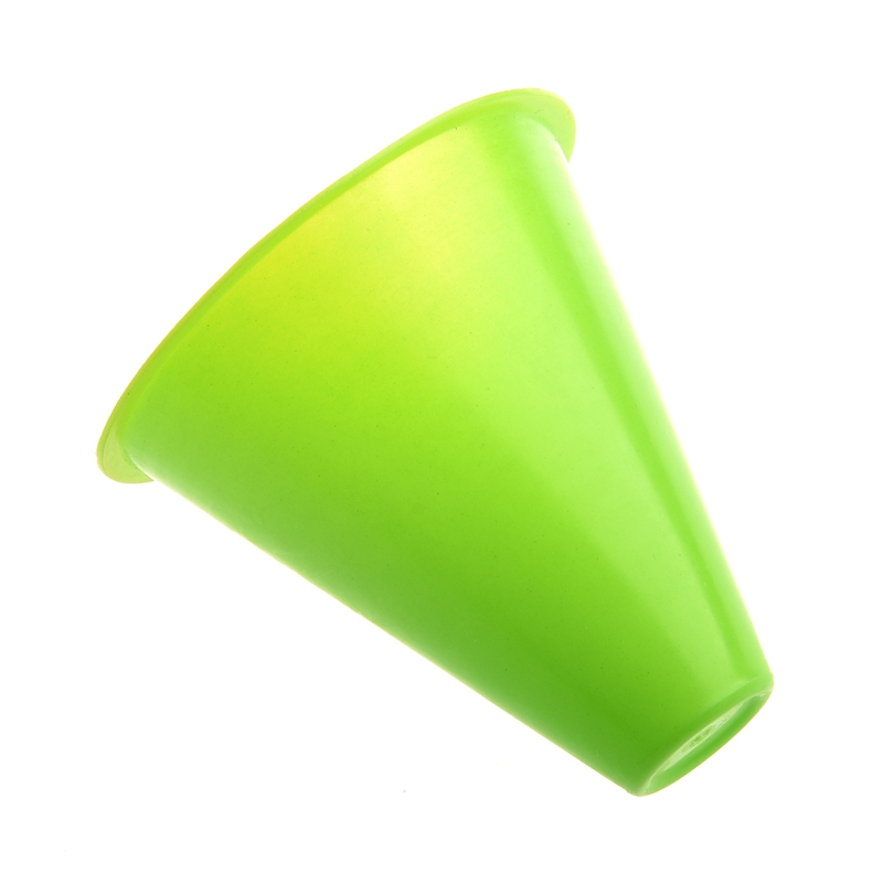 ABKT-5pcs 3 Inches Cones For Slalom Skate Roller-Skating - Green