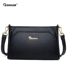 купить ZOOLER New Women Bag Female Shoulder Bag Handbag Women Famous brands Genuine Leather Bag Ladies Crossbody Messenger Bags #l111 дешево