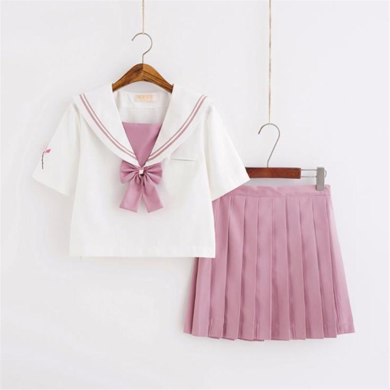 Japanese Sailor Suit Orthodox Soft Girl JK Uniform Skirt Cosplay Student Suit Anime Schoolgirl School Uniform Movie Characters