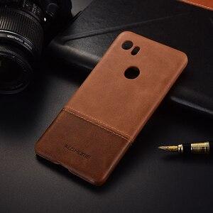 Image 1 - Luxe Merk Lederen Case Voor Google Pixel 2 Xl 4 Telefoon Back Cover Cases En Covers Shell Bumper