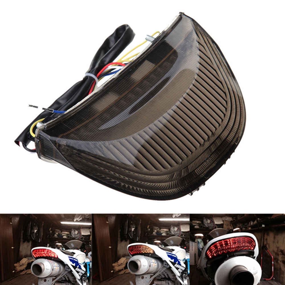 Turn Signal Tail Lamp Rear Low Power Energy Saving Led Motorcycle Accessory Smoke Easy Install Warning Brake Light For Honda