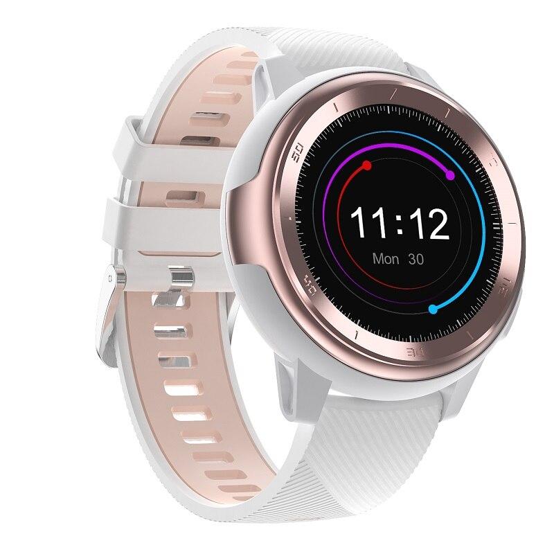 Montre intelligente femmes hommes DTNO.1 DT68 Smartwatch décennies cadrans visages 230mAh batterie au Lithium fréquence cardiaque ECG pression artérielle temps