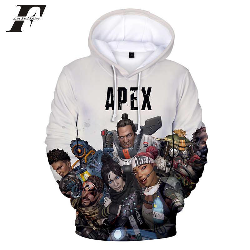 Hoodies Männer Kawaii 3D Druck sweatshirt hoodies Langarm Frauen Kleidung Heißer Verkauf Apex Legends Casual Kpop Hohe Qualität Kleidung