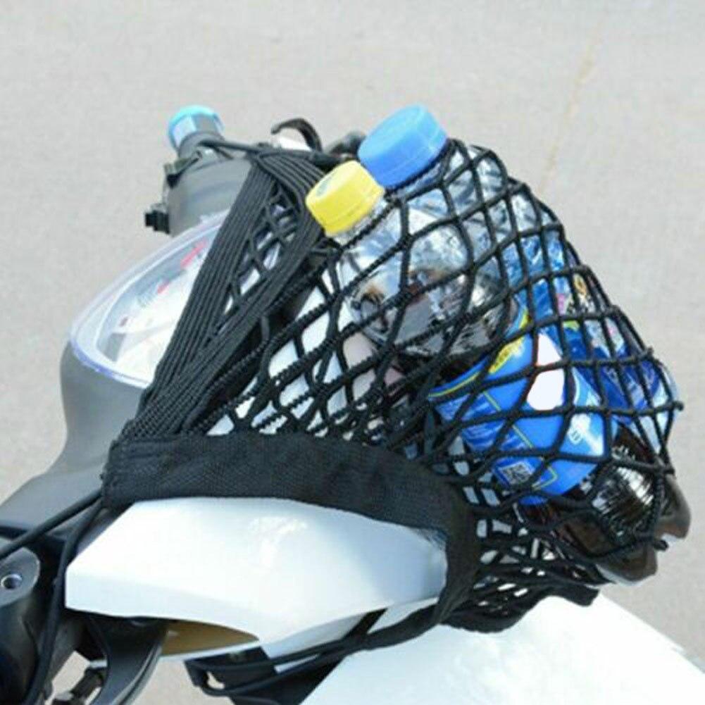 Auto Innen Netze Lagerung Tasche Mesh Lagerung Motorrad Gepäck Net Haken Cargo Bike Roller Mesh Lagerung Trunk Bag Auto Styling