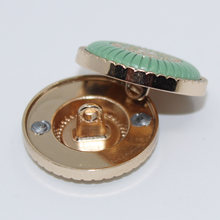 Nieuwe 10Pcs Metal Knoppen Shiny Rhinestone Knop Voor Kleding Accessoires Weding Handgemaakte Bruiloft Decoratieve Knoppen