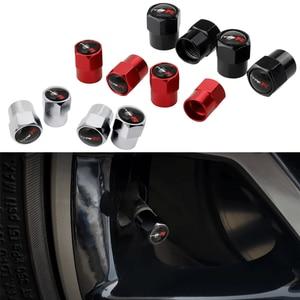 Auto Styling Auto Decoratie Voor Typer Logo Honda Accord Fit Civic Crv H-RV Mugen Jazz Stad Jade Elysion Odyssey Band ventieldopjes