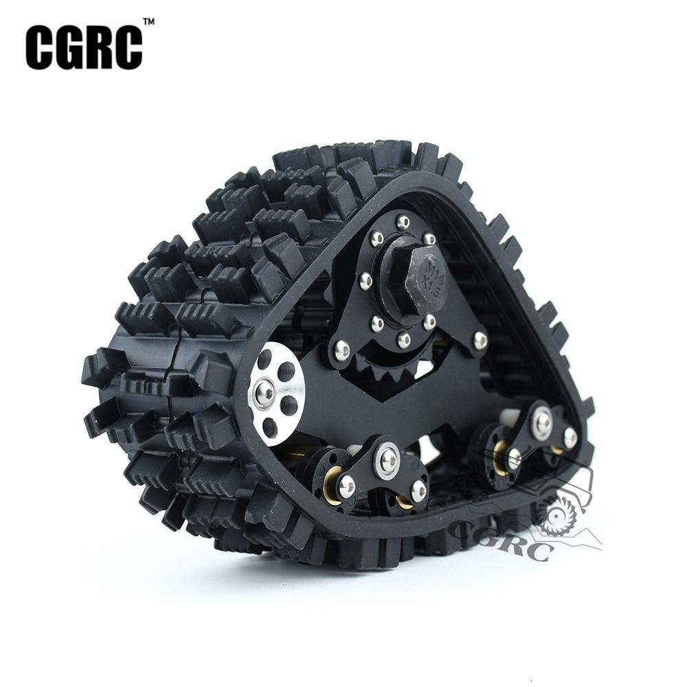 All Terrain Track Muddy Road Snow Wheel For 1/10 RC Crawler Car Traxxas TRX4 Defender Bronco G500 TRX6 G63