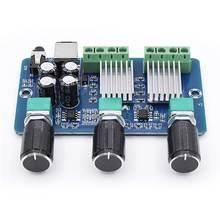 Плата аудиоусилителя dc 12 В 1 канал цифровая мощность 15 Вт