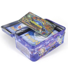 TAKARA TOMY 42pcs/set Shining Pokemon VIP Cards Collections Card Bling Bling Metal Boxed Flash Card for Kids Christmas Gifts metal membership card production of metal cards vip card magnetic cards vip card metal card card card customized proof shoot con