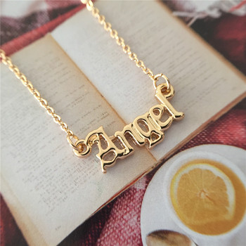 High Quality 2019 New Fashion Jewelry Gold Babygirl Letter Necklace Name Pendants Lovely Gift for the Mom 2
