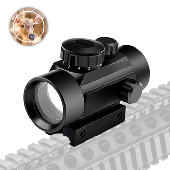 цена на 1*30 Tactical Holographic Sight Military Red Dot Sight Telescope Dot Scope Optics Hunting Scope Airsoft Rifle Scopes