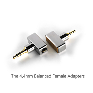 Image 3 - DD ddHiFi DJ44B DJ44C, female 4.4 Balanced adapter. Apply to 4.4mm earphone cable, from brands such as Astell&Kern, FiiO, etc.