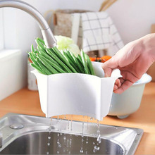 Kitchen Tool Drain Storage Basket High Quality Drainage Multifunctional Environmental Practical Protection Household Tool