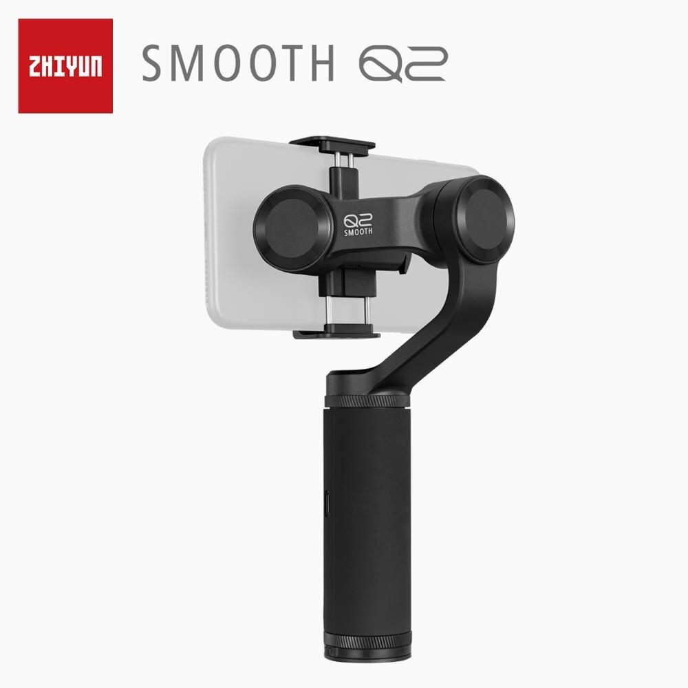 Zhiyun oficial suave q2 cardan verdadeiramente bolso-tamanho avançado móvel handheld estabilizador para iphone xs/samsung/huawei/redmi vs osmo