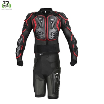 WOSAWE Motorcycle Jakcet Motocross Racing Riding Full Body Armor Jacket Spine Chest Back Hip Pad Protector Snowboard Ski Skate wosawe motorcycle armor jacket motocross body protector ghost racing riding moto protective guard armor chest back protection