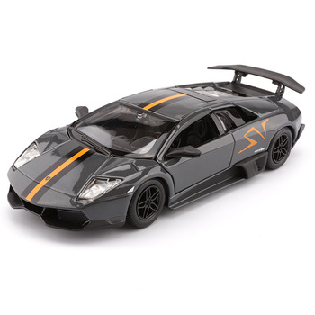 цена на Bburago 1/24 1:24 Scale Lamborghini Murcielago LP670 LP670-4 SV Racing Sports Car Diecast Display Alloy Model Children Boys Toy