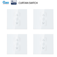 NEO Coolcam 4 pz/lotto smart Home, Casa Intelligente Z Onda Più Il Smart Switch Tenda per Elettrico Motorizzato per Tende A Rullo Ciechi di Scatto