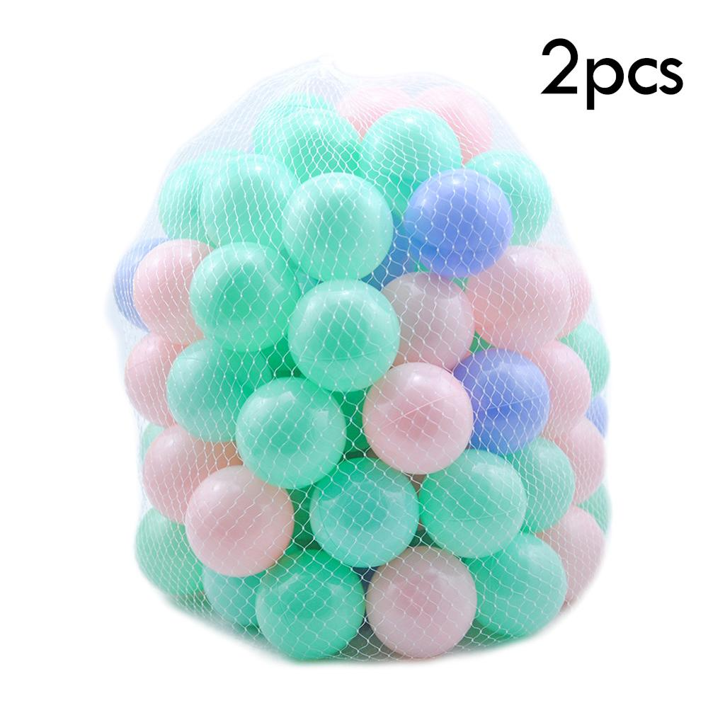 200 Pcs/lot Ocean Wave Ball Eco-Friendly Colorful Ball Soft Plastic Ocean Ball Funny Baby Kid Swim Pit Toy Water Pool