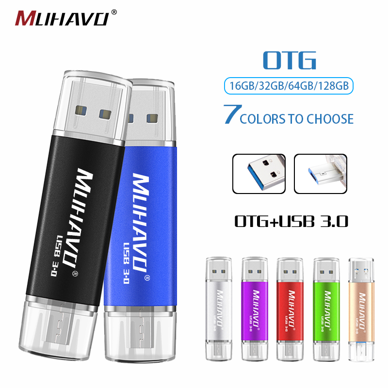 USB 3.0 Flash Drive Custom Logo Pendrive Metal Usb Stick High Speed Pen drive