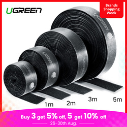 Ugreen Cable Organizer Wire Winder Clip Earphone Holder Mouse Cord Protector HDMI Cable Management For iPhone Samsung USB Cable