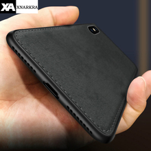 New Fabric Ultra-thin Canvas Silicon Case For iphon