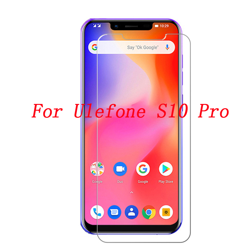 2Pcs Tempered Glass for Ulefone S10 Pro Screen Protector cover Explosion-proof Mobile phone Film for Ulefone S10 S 10 Pro Case