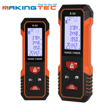 MAKINGTEC Laser Meter Laser Distance Meter 40M60M Laser Rangefinder Laser Measure Digital Measuring Tape Range Finder Roulette makingtec laser meter laser distance meter 40m60m laser rangefinder laser measure digital measuring tape range finder roulette