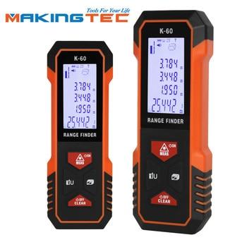 MAKINGTEC Laser Meter Laser Distance Meter 40M60M Laser Rangefinder Laser Measure Digital Measuring Tape Range Finder Roulette
