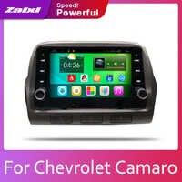 ZaiXi 2din Car multimedia Android Autoradio Car Radio GPS player For Chevrolet Camaro 2010~2015 Bluetooth WiFi Mirror link Navi