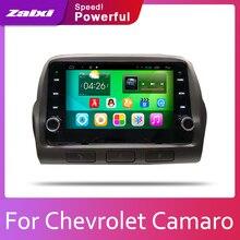 ZaiXi 2din coche Android multimedia Autoradio radio reproductor GPS para coche para Chevrolet Camaro 2010 ~ 2015 Bluetooth WiFi enlace espejo Navi