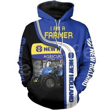 Tessffel Worker Farmer Tractor Instrument Funny NewFashion Long Sleeves 3DPrint Zipper/Hoodies/Sweatshirts/Jacket/Men/women A-9