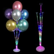 Led Balloon Holder Column Base Balloons Stand Stick Wedding Birthday Party Decoration Kids Adult Decor