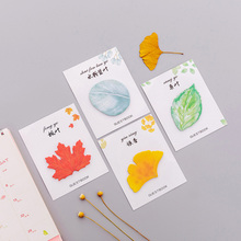 Stationery Post-It Leaves Message DIY Plan Small Creative