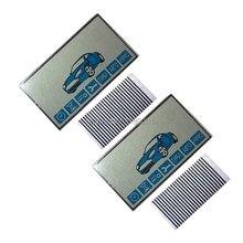 2 шт., ЖК-дисплей E90 для 2 шт./лот, русская двухсторонняя Автомобильная сигнализация StarLine E90, ЖК-пульт дистанционного управления, брелок для клю...