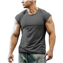 Cotton T-shirt Running Shirt Men Quick Dry Short Sleeve Fitness T-shirts Training Tees Top Sport shirt Rashgard