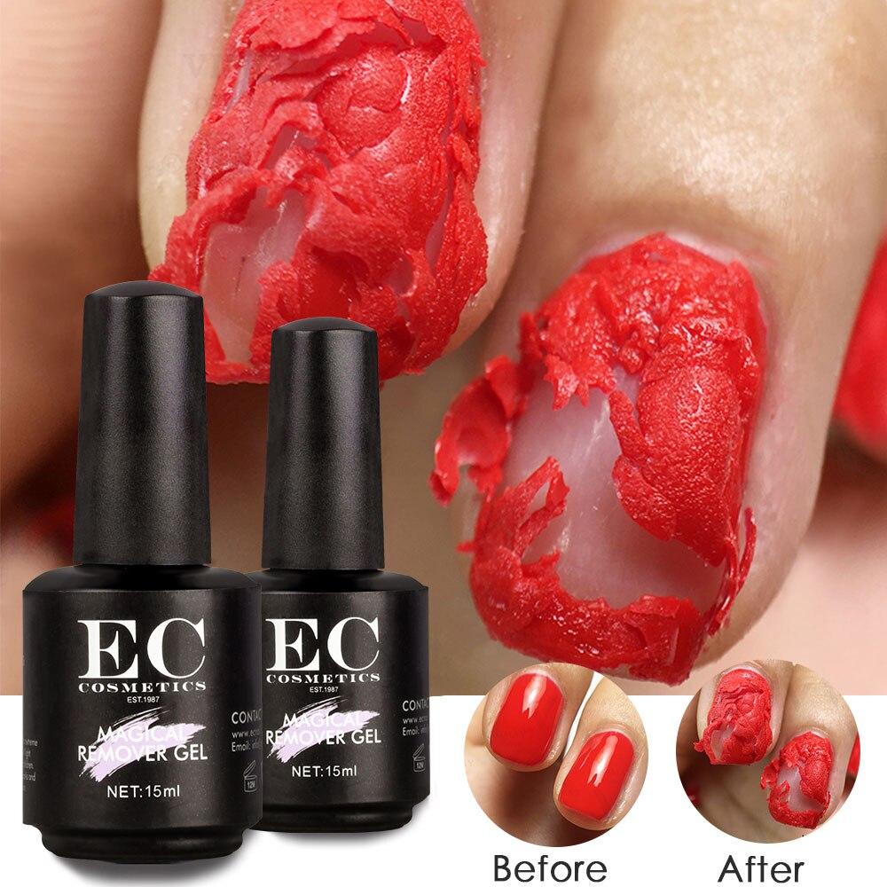 15ML Nail Polish Burst Magic Gel Nail Polish Remover Fast Nail Clean Gelpolish Remover Nail Art Primer