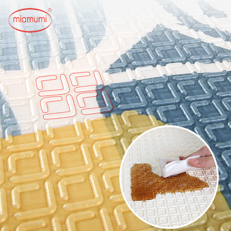Miamumi Puzzle Mat Play-Mat Foam Baby Children 200X180CM Kid for Tapete 78x70in-Mat