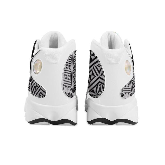 Venta caliente Tonga Polinesia Samoa Tribal estilo zapatillas de correr para niño personalizado bola Logo de equipo deportivo de Baloncesto de los hombres zapatos deportivos 5