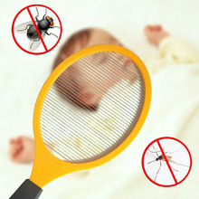 Mosquito Swatter Fly-Zapper Insect Killer Racket Electric Home Bug Pest Garden Stainless-Steel