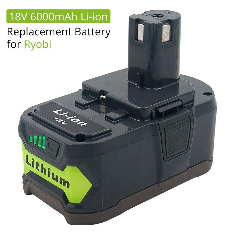 LENOGE 2-Pack 18V 5,0Ah Ryobi P108 RB18L50 Batterie de Lithium-ION de Haute Performance pour RYOBI One Plus P107 P105 P104 P103 P102 P100 BPL1815 BPL1820G BPL18151 BPL1820 RB18L15 RB18L25 RB18L40