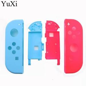 Image 5 - YuXi עבור Nintend מתג NS שמחה קון החלפת שיכון מעטפת כיסוי עבור NX JoyCons בקר מעטפת מקרה ורוד סגול אור כחול