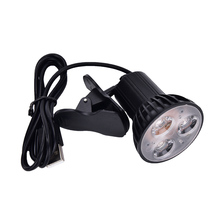 Usb-Light Notebook Desk Reading-Lamp Led-Clip Laptop Flexible Portable for PC on 3