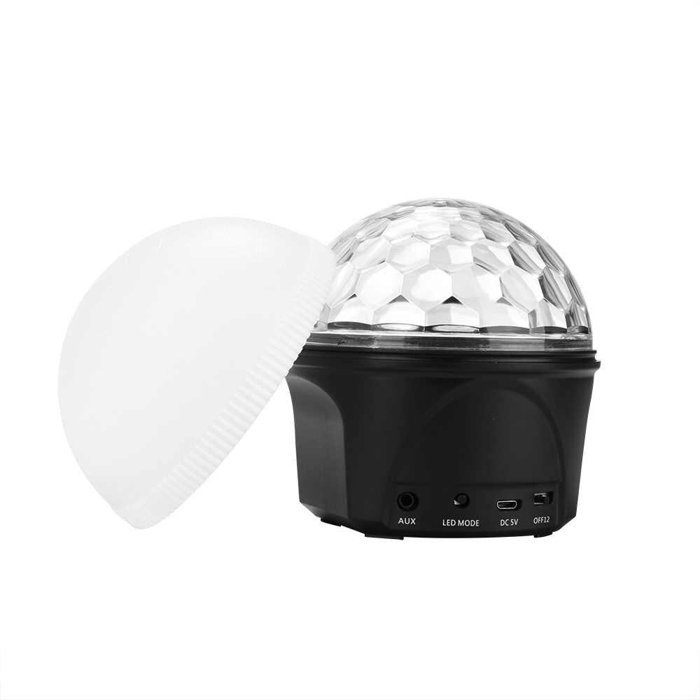 Bluetooth воспроизведение музыки 9 цветов волшебный шарик свет Прожектор для сцены, KTV сценический барный светильник день рождения праздник Рождество световые эффекты для вечеринки