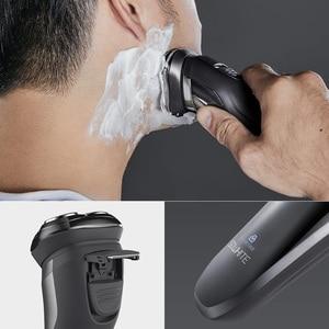 Image 2 - SOOCAS SO WHITE ES3 Electric Shaver Razor Shaving Machine LED Digital Display Rechargeable 3D Trimmer Beard For Men
