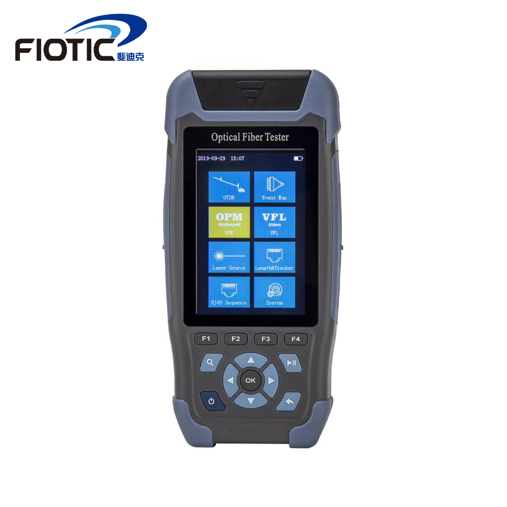 Mini Pro OTDR NK3200D Otdr Optical Fiber 1310/1550nm Handheld Otdr Ftth 24/22DB 500M-64KM Multifunction VFL OPM Reflectometer
