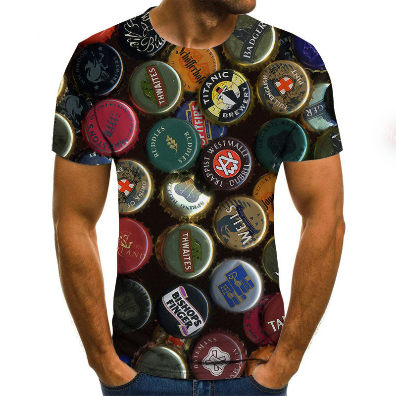 2020 Funny Printed Men T-shirt Casual Short Sleeve O-neck Fashion 3D T Shirt Men/Woman Tees Top High Quality Brand Tshirt