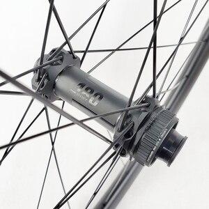 Image 3 - 1260g 29er MTB XC DT180 koła doładowania 32mm bezdętkowe 28mm profil 27mm prosto ciągnąć łożyska ceramiczne mikro spline 12s CL koła
