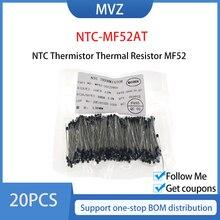 20 шт., терморезистор NTC MF52 NTC-MF52AT 1K 5K 10K 50K 100K 1% 3950B Ohm R