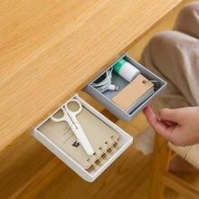 Самоклеящийся ящик под столом скрытый для хранения стол Канцтовары